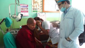 INs-ENT-Doctor-Training-a-Community-Health-Care-Worker-during-Basic-Otology-Training-at-TUTH-1280x720